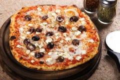 läcker pizza Royaltyfri Bild