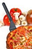 läcker pizza Royaltyfria Bilder