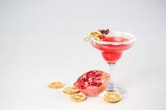 Läcker röd coctail Fotografering för Bildbyråer