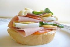 Läcker smörgås royaltyfri bild