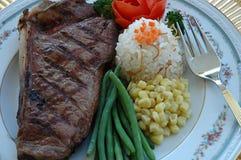 läcker steak Arkivbild