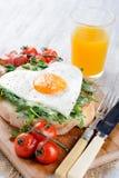 Läcker stor frukost Royaltyfri Fotografi