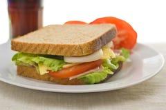 läcker sund smörgås Arkivbilder