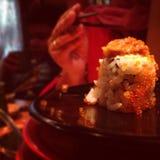 Läcker sushi någonsin arkivfoton