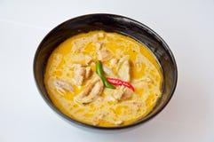 Läcker thailändsk matappell KAENG KHEAW WAN KAI Arkivfoton