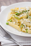 Läcker vegetarisk pasta Royaltyfri Fotografi