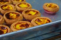 Läckert äggtartsbageri i Macao Royaltyfri Bild