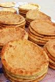 läckert bröd arkivfoton