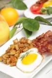 läckert frukostland Royaltyfria Bilder