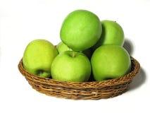 läckert guld- för äpplen Fotografering för Bildbyråer
