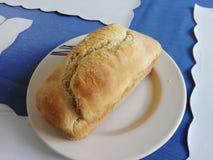 Läckert hem som göras bröd Arkivfoton