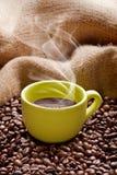 läckert kaffe Royaltyfria Foton
