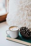 läckert kaffe royaltyfri fotografi