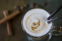 Läckert smaksatt kaffe Royaltyfria Bilder