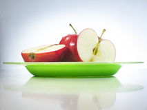 läckra äpplen Royaltyfri Foto