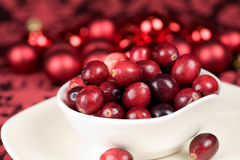 läckra cranberries Arkivbild