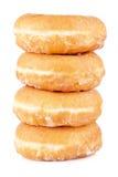 läckra donuts fyra arkivfoto
