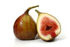 läckra figs två Royaltyfri Fotografi