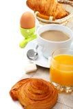 läckra frukostgiffel Arkivfoton