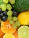 läckra frukter Arkivfoto