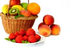 Läckra frukter Arkivbild