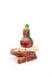 Läckra hemlagade sötsaker Arkivfoto