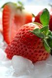 läckra jordgubbar Royaltyfria Foton