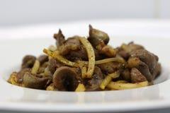 Läckra kryddade njure Royaltyfri Foto