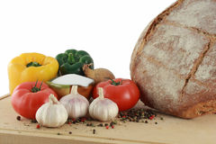 läckra livsmedelsprodukter Arkivbilder