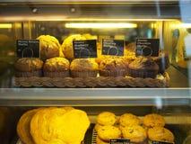 läckra muffiner Arkivbild