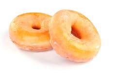 Läckra och nya donuts för frukost arkivbilder