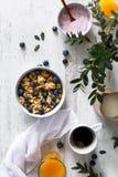 Läckra och sunda sädesslag för frukost Arkivbild