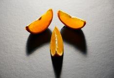 Läckra orange apelsiner Arkivbild