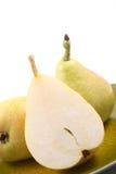 läckra pears royaltyfria foton