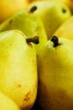 läckra pears Arkivbilder