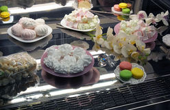 Läckra sötsaker och kex Royaltyfria Foton