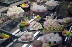 Läckra sötsaker och kex Royaltyfri Bild