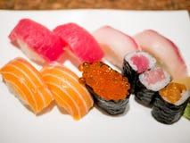 läckra sushi Royaltyfri Bild
