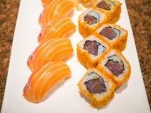 läckra sushi Royaltyfria Foton