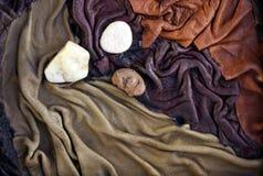 läder Arkivbilder