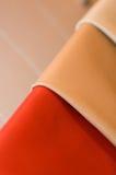 läder shoppar Arkivbild