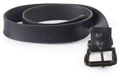 Läderbälte Fotografering för Bildbyråer