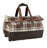 läderbagage Arkivfoto