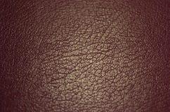 Läderbakgrund arkivfoto