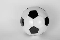 Läderfotbollboll Fotografering för Bildbyråer
