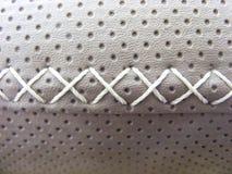 Läderkorshäftklammer Arkivfoto