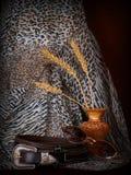 läderlivstid strap fortfarande royaltyfri foto