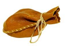 läderpåse Fotografering för Bildbyråer