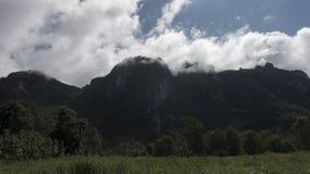LäderremPha Phum berg Arkivbild