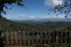 LäderremPha Phum berg Arkivfoton